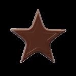 Chocolate Stars Donker