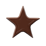 Chocolate Stars Noir