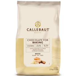 Cioccolato da cottura - Chocolate chunks white