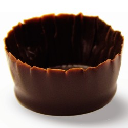 Chocolade cups - Round Mini Cups