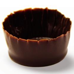 Шоколадные чашечки - Round Mini Cups