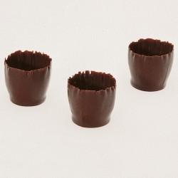 Tazzine di cioccolato - Small Carved Cups
