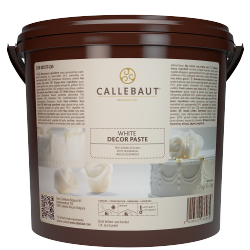 Glazuur & coverpasta decor - White icing and decor paste