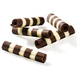 Palitos de Chocolate - Rolls Dark & White
