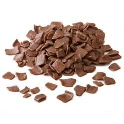 Çikolatadan Süsleme Parçacıkları - Flakes Milk Large