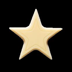 Étoiles en chocolat - Chocolate Stars Blanc