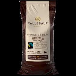 Chocolat certifié issu du commerce équitable - 811 Fairtrade certified