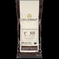 Teneur en cacao comprise entre 45 et 59% - 835
