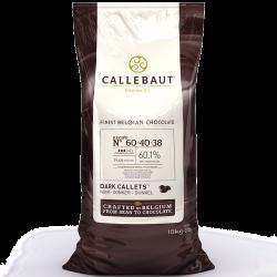 Teneur en cacao comprise entre 60 et 69% - 60-40-38
