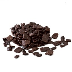 Vermicelles en chocolat - Flakes Dark Large