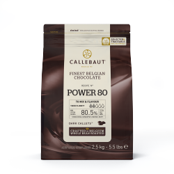 from 80% cocoa and more - Power 80