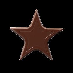 Czekoladowe gwiazdki - Chocolate Stars Dark