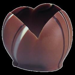 Tazzine di cioccolato - Tulip cups Selene