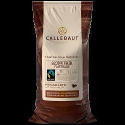 Chocolat certifié issu du commerce équitable - 823 Fairtrade certified