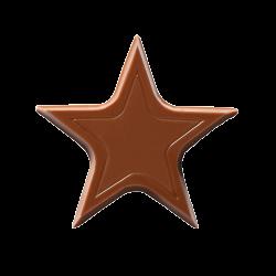 Czekoladowe gwiazdki - Chocolate Stars Milk