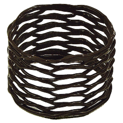 Décors fantaisie en chocolat - Large Napkin Ring Dark