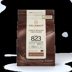 Teneur en cacao comprise entre 30 et 39% - 823