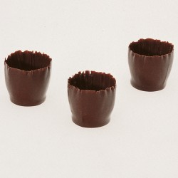 Chocolade cups - Small Carved Cups