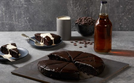 WARM CHOCOLATE ALE CAKE