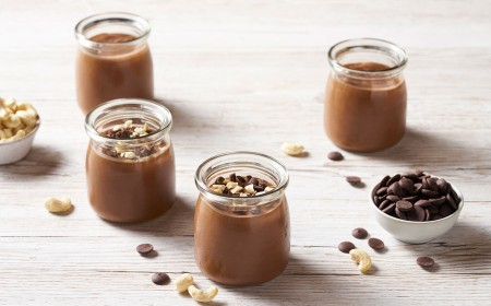 Cashew Chocolate Pots