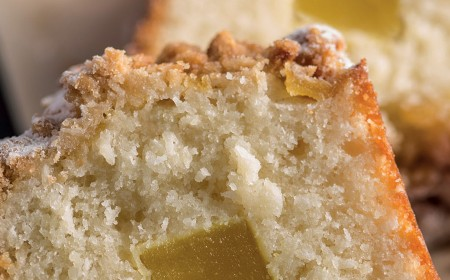 Roasted pineapple coffee cake