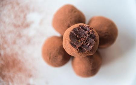 Hazelnut power 80 truffles