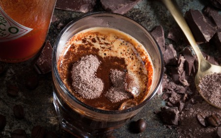 Spicy chocolate coffee