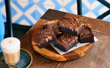 Peanut Butter Sea Salt Chocolate Brownies
