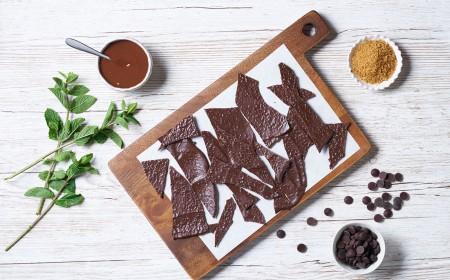 Chocolate & Mint Shards