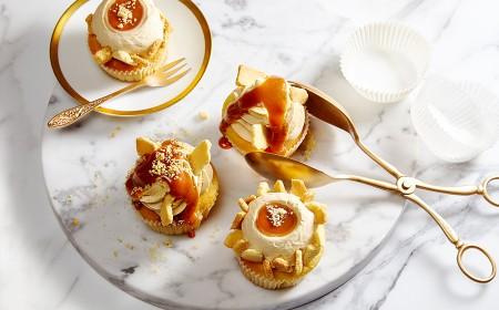 Cupcake cremoso e crocante