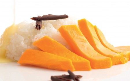 Chocolate sticky rice