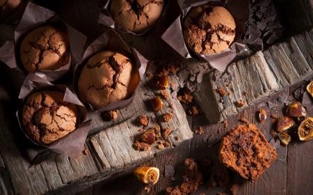 Muffiny pełne słodyczy