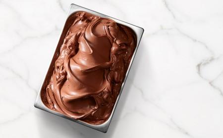 Base per gelato al cioccolato fondente