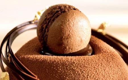Amandel- en chocoladecombinatie