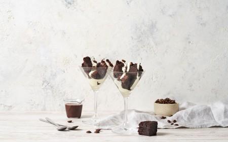 Espresso No-tini Brownies