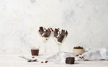 Espresso No-tini Brownies