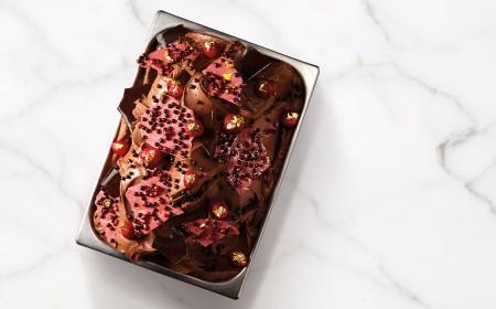 Gelato au chocolat Sao Thomé