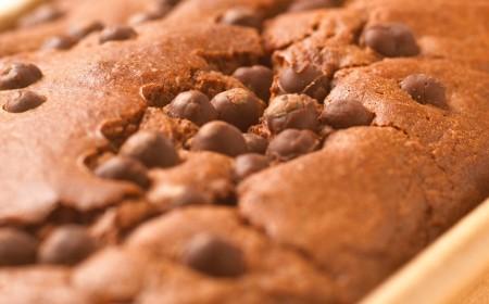 Chocolate and hazelnut cream cake