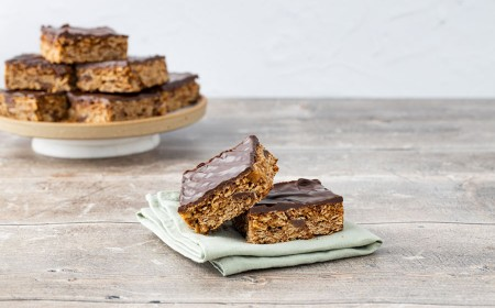 Chocolate Flapjack Bites