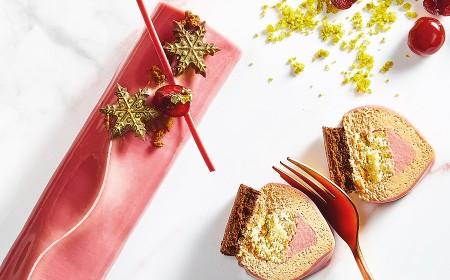 Świąteczne Ciasto z Ruby i Gold