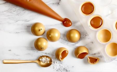 Caramel & Gold bonbons