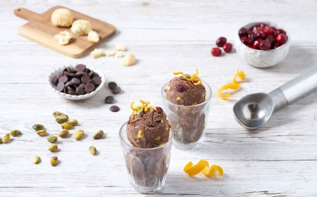 Chocolate Fruit & Nut Sorbet
