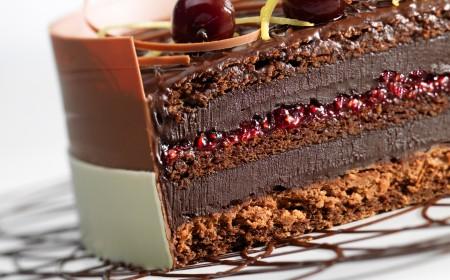 Double chocolate Forêt-Noire