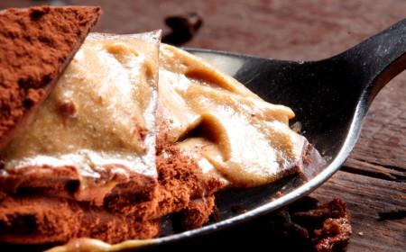 Millefeuille chocolate, chicorée et yuzu