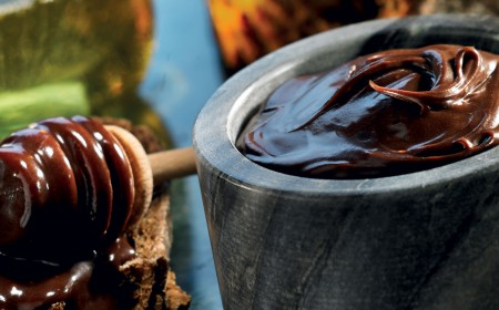 Dark chocolate marmalade