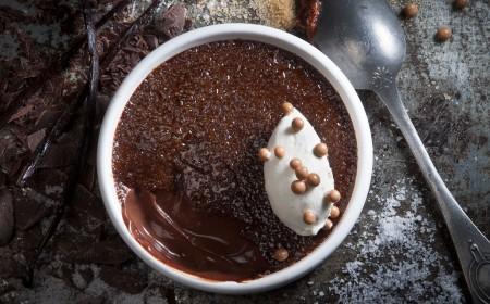 Chocolade Crème Brûlée 1.0