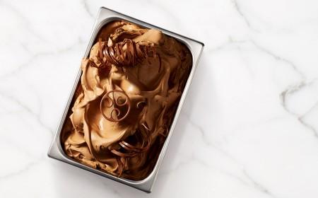Base pour gelato au chocolat au lait