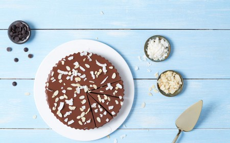 Chocolate Coco-nutty Tart