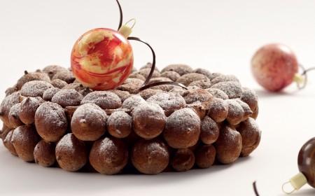 Chocolate meringue mousse