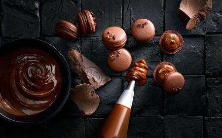 Schokoladen macaron
